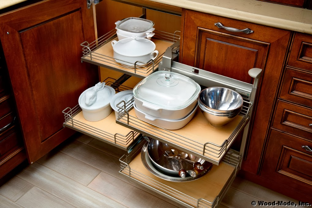 Kitchen Cupboard Swivel Storage