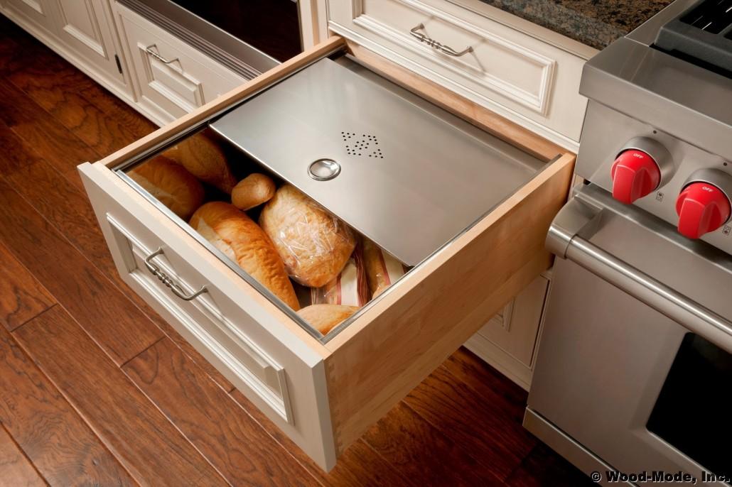 Custom Kitchen Storage Cabinets