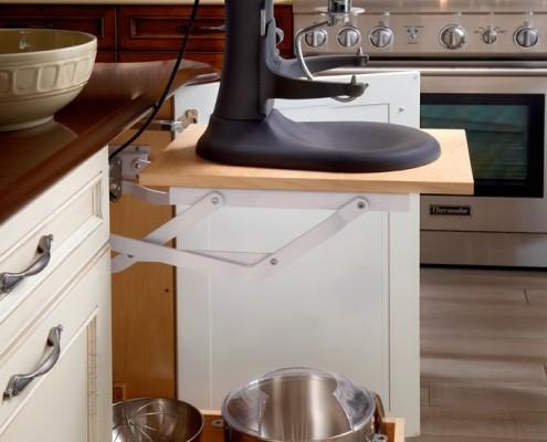 custom kitchen storage northwest montana homes