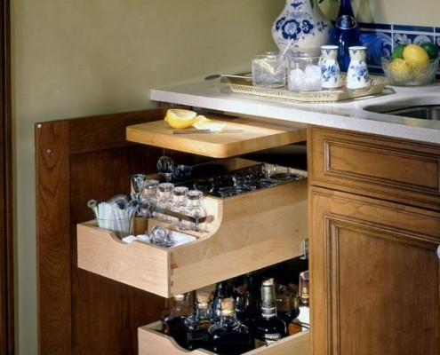 jeff gilman woodworking custom kitchen storage cabinets