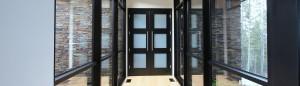 custom wood doors and entryways