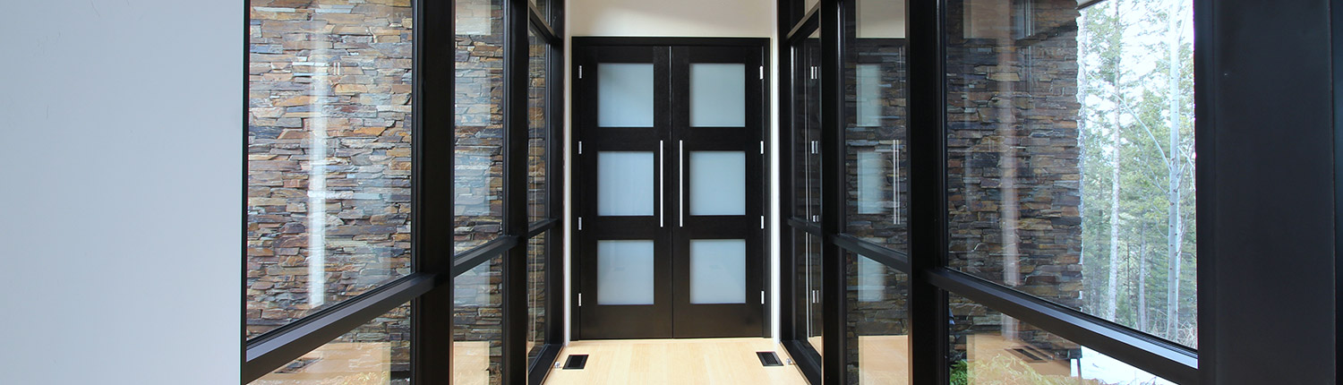 custom wood doors and entryways