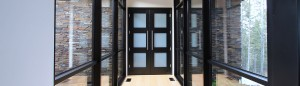 modern Montana doors