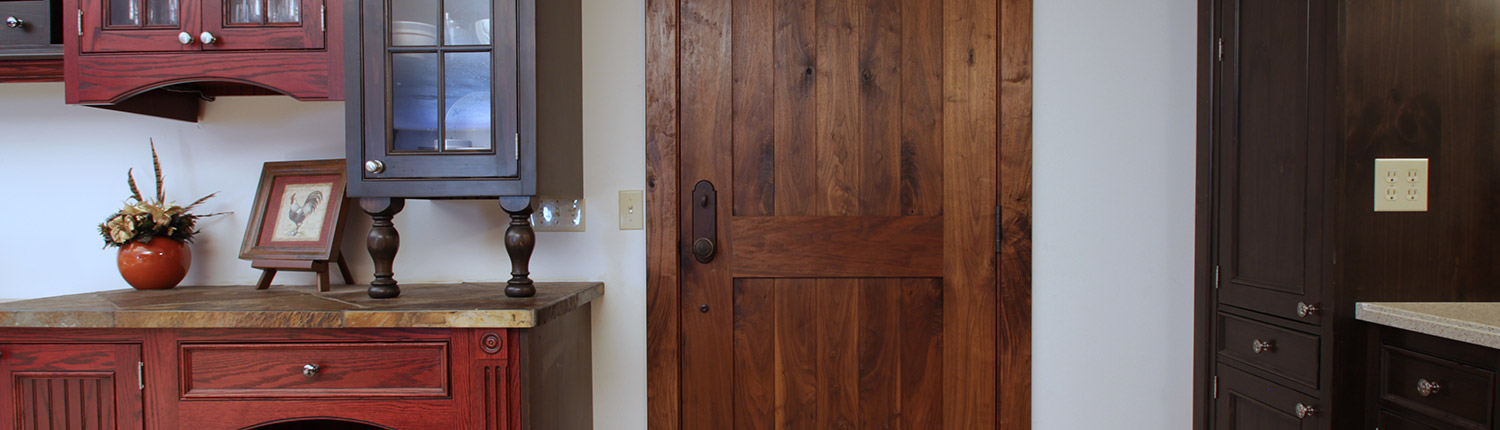 hand-made custom doors
