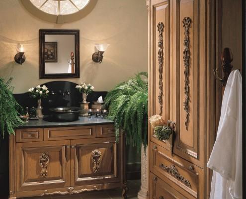 traditional bathroom cabinet design