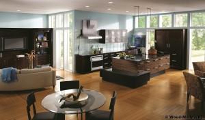 modern montana kitchen cabinetry