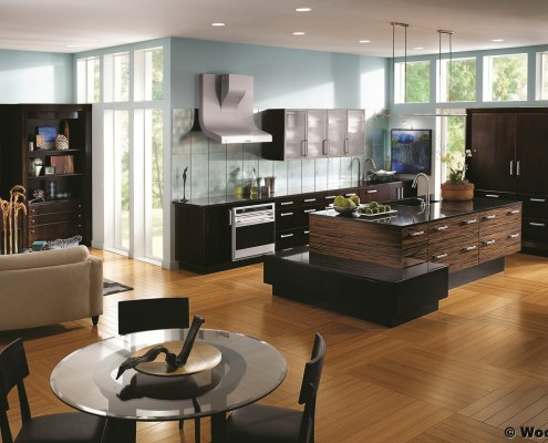 modern montana kitchen cabinetry