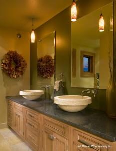 montana custom bathroom cabinetry