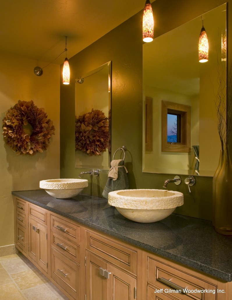 Montana Custom Bathroom Cabinetry Whitefish Montana Cabinet Maker. Bathroom Cabinet Makers