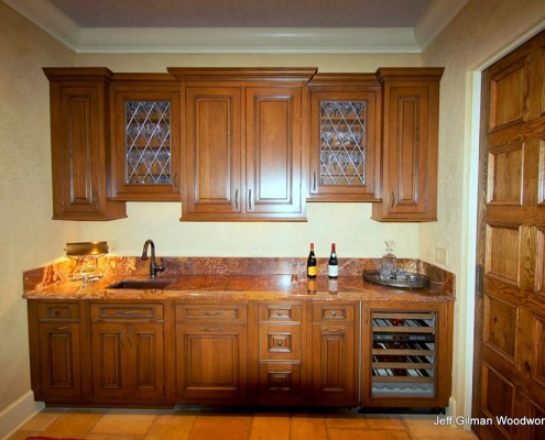 luxury montana home cabinetry
