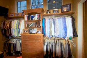 custom closet and storage design
