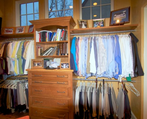 custom closet and storage design