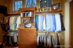 custom closets and storage