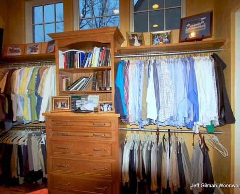 custom closets and storage