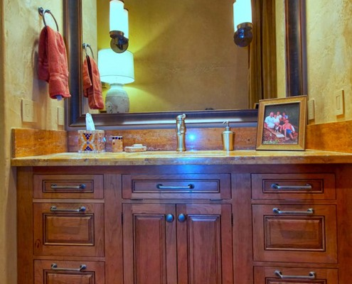 montana bathroom cabinetry