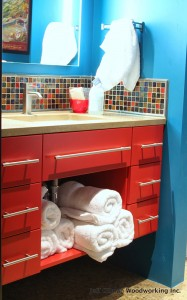 custom bathroom cabinetry in whitefish