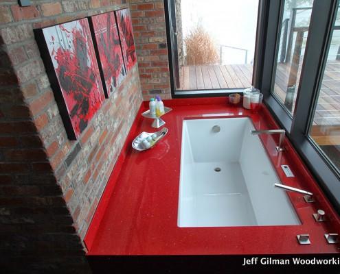 custom bathroom cabinet makers in montana