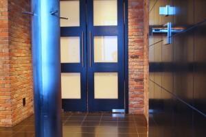 modern doorway design northwestern montana