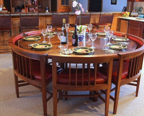 custom wood furniture makers in montana