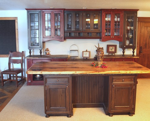 custom kitchen cabinet makers in montana