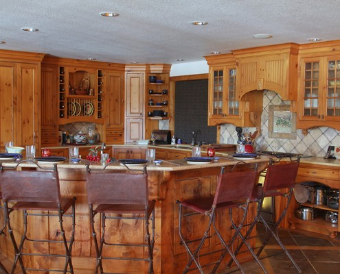 montana custom kitchen cabinets