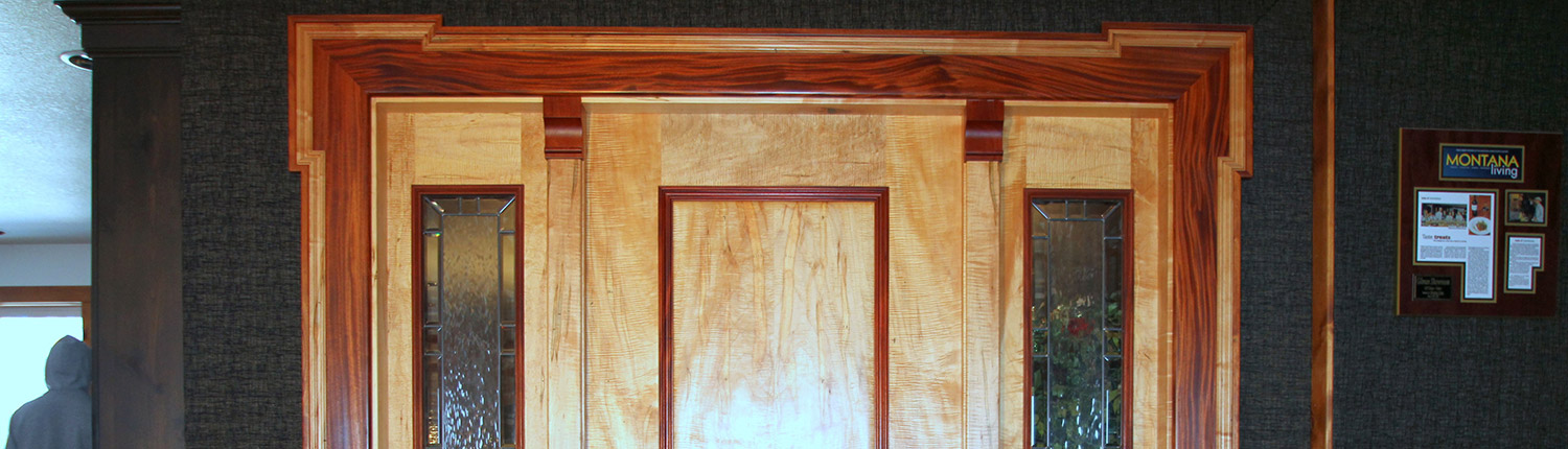 custom doors and entryways montana