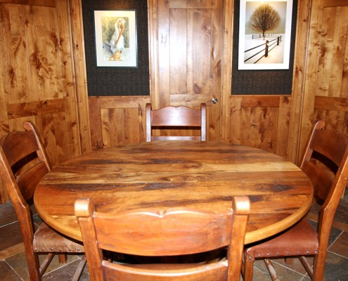 hand-made wood furniture montana