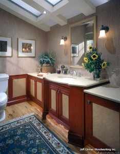 whitefish montana custom bathroom cabinets