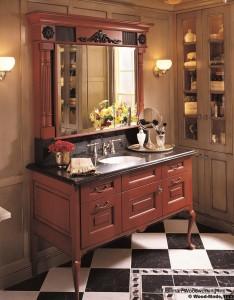 custom bathroom cabinet designers