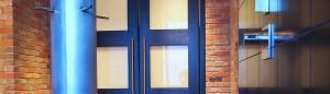 contemporary custom wood doors montana