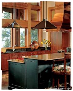 montana craftsman kitchen cabinets