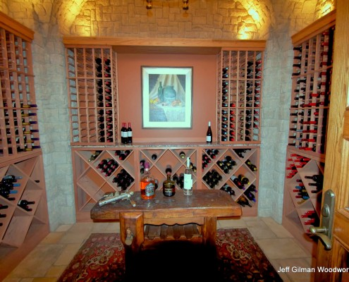 custom wine cellars whitefish montana