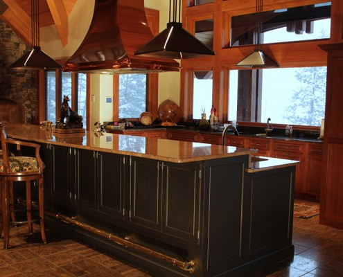 kitchen cabinets bigfork mt