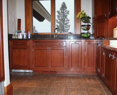 custom kitchen cabinetry bigfork