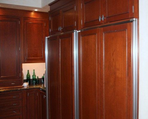 hardwood kitchen cabinets bigfork