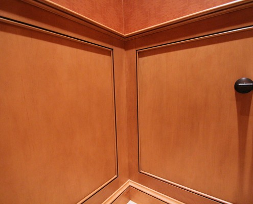 hardwood bathroom cabinets